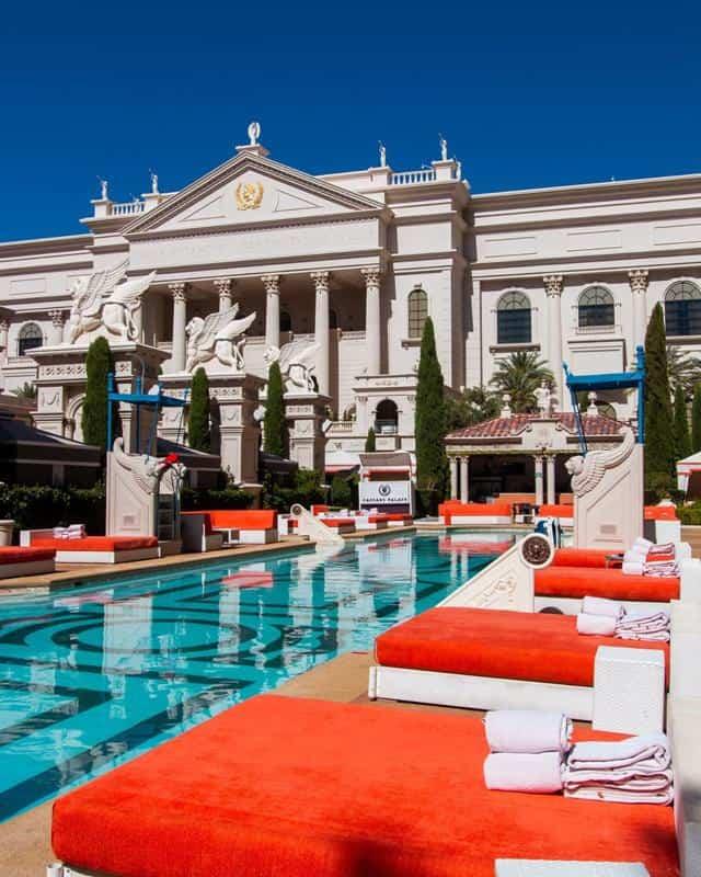 Caesars Palace Pool 1