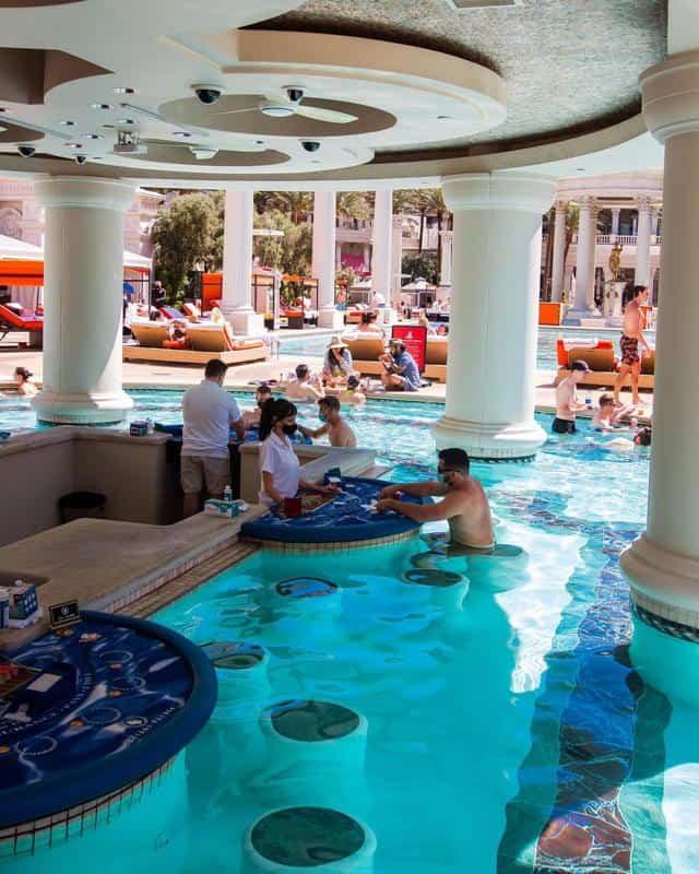 Caesars Palace Pool 2