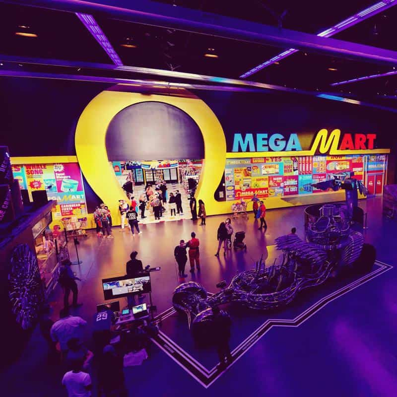 Meow Wolf's Mega Mart