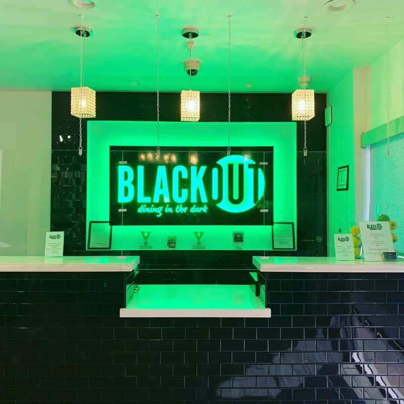 Blackout-Dining in The Dark