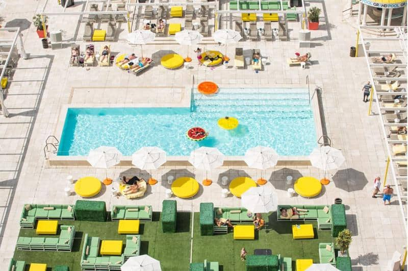 Citrus Rooftop Pool at Downtown Grand