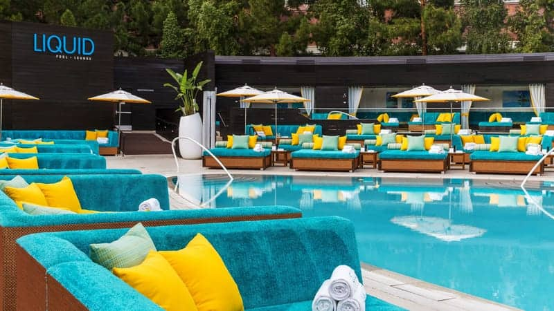 Liquid Pool Lounge Party at Aria