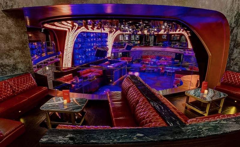 Mezzanine VIP Tables