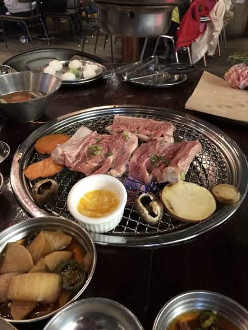 Pork Rib from Hobak Korean BBQ