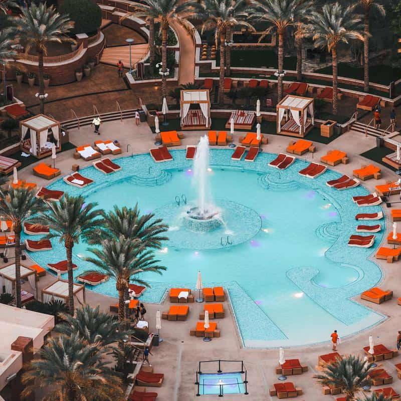 Red Rock Resort Pool 2