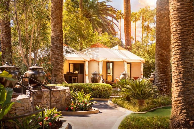 The Mirage Hotel's Atrium