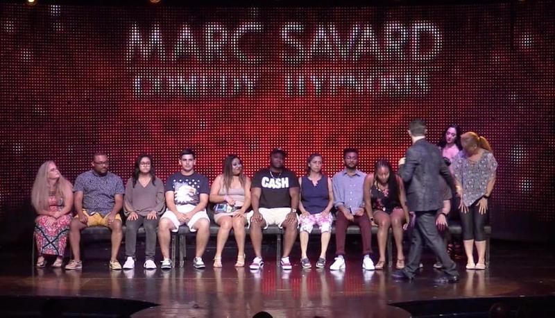 Marc Savard Comedy Hypnosis 1