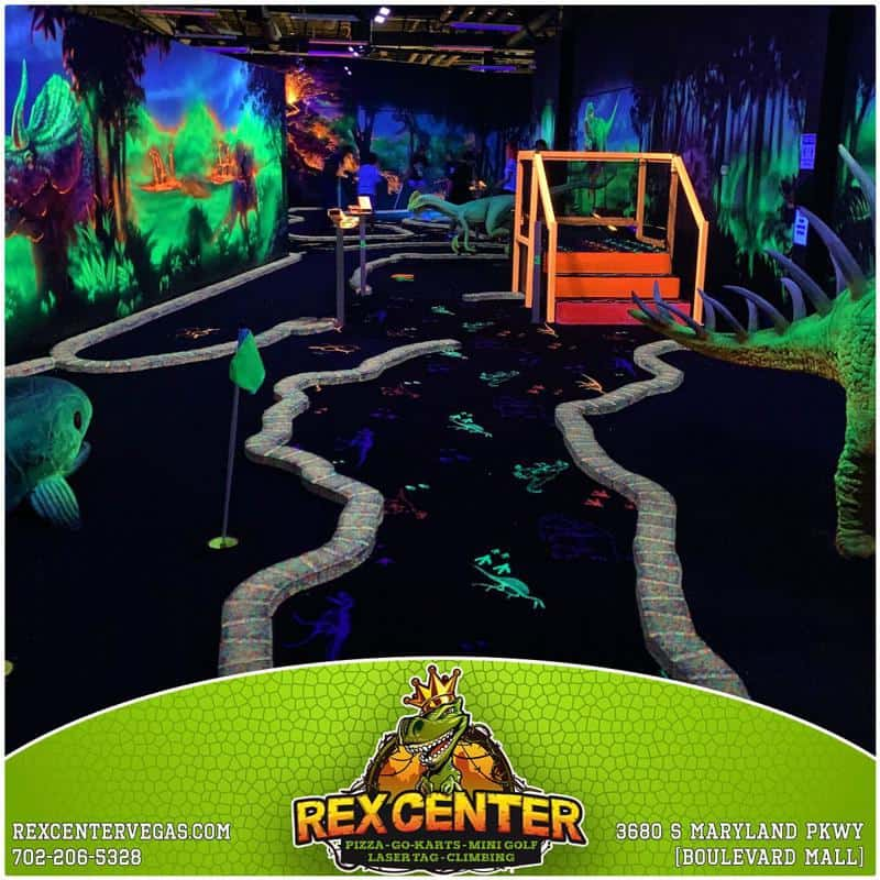 Rex Center Mini Golf 1