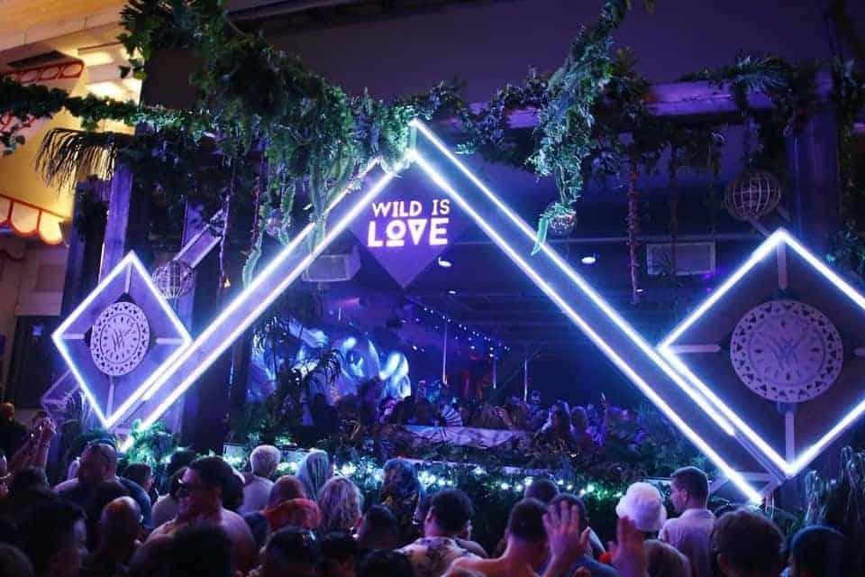 Wednesday Nightlife in Las Vegas